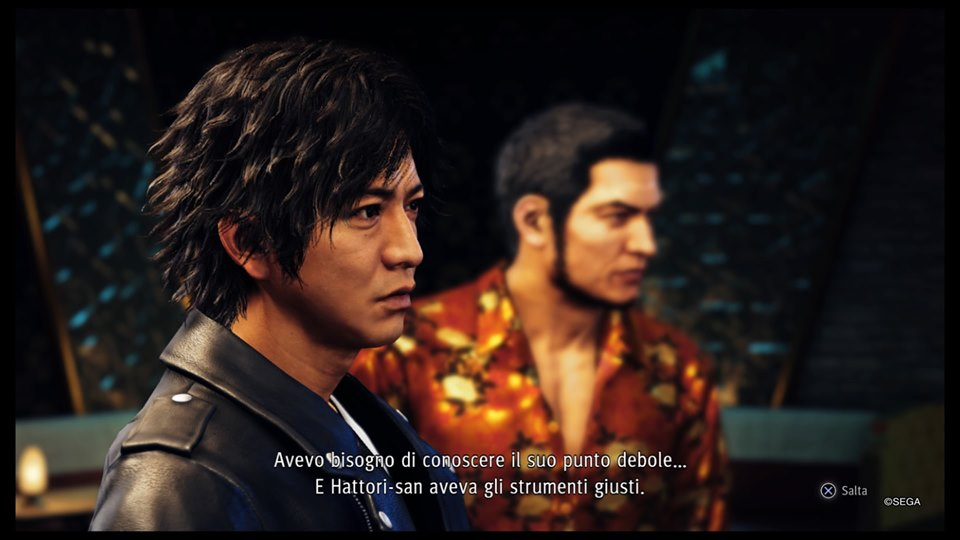 recensione per ps4 di judgment