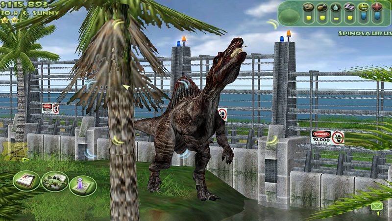 videogioco su licenza di Jurassic Park