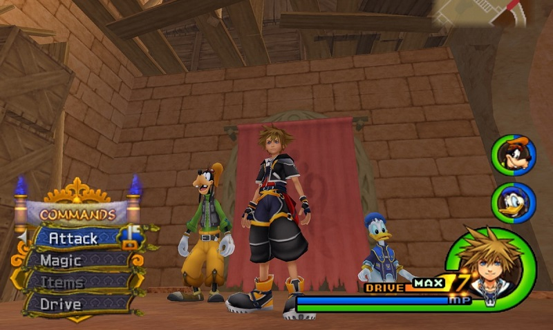 primo capitolo della serie Kingdom Hearts