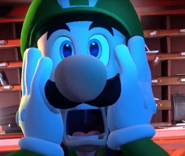 Nintendo Switch luigi's mansion