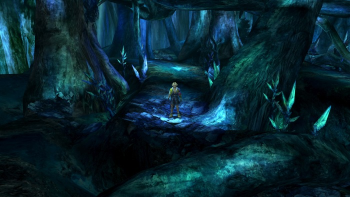 malacania forest final fantasy x