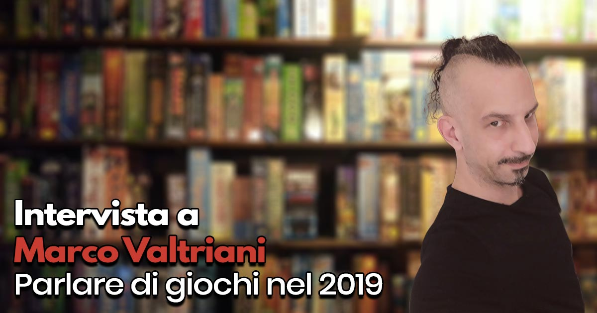 Marco Valtriani intervista player.it