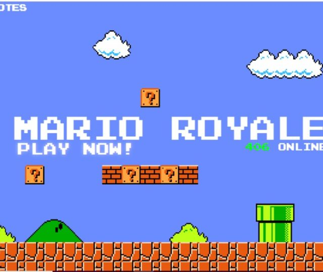Mario Royale play now battle royale