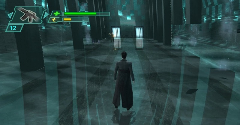 matrix path of neo, gioco su licenza con keanu reeves