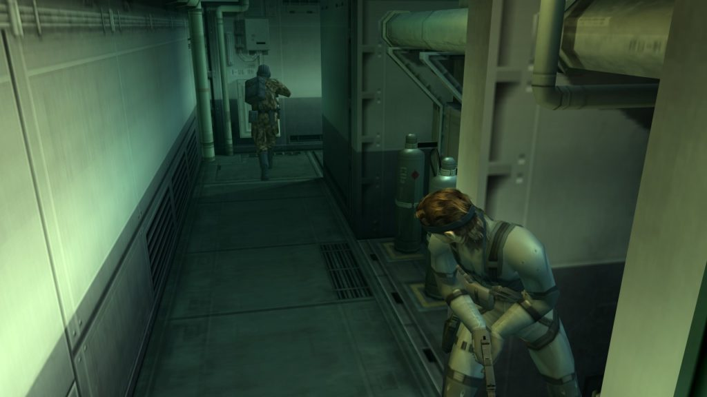metal gear solid 2 sons of liberty playstation 2 gameplay snake tanker