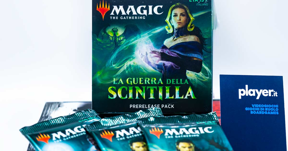 mtg-arena la guerra di scintilla war of the spark recensione