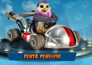 CTR Nitro-Fueled | Come sbloccare Penta Penguin