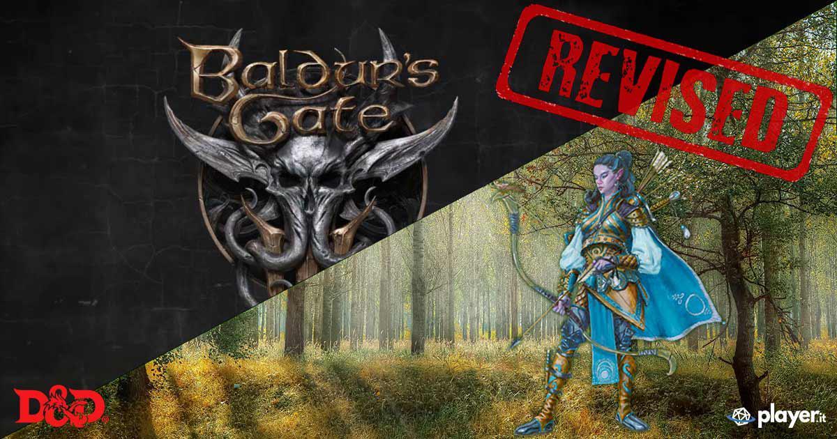 In arrivo una versione aggiornata per il Ranger D&D 5E grazie a BG3