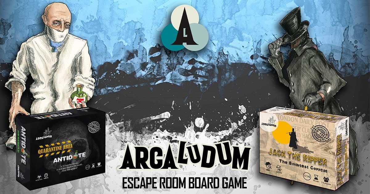 Escape Room Board Game Cover