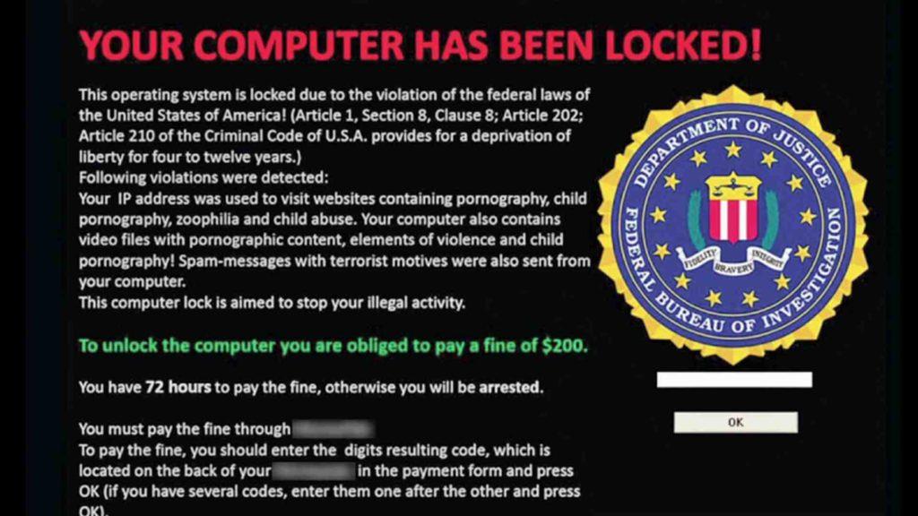 ransomware america