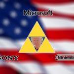 Sony Microsoft Nintendo Trump