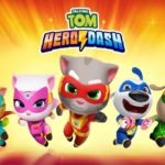 talking tom hero dash trucchi