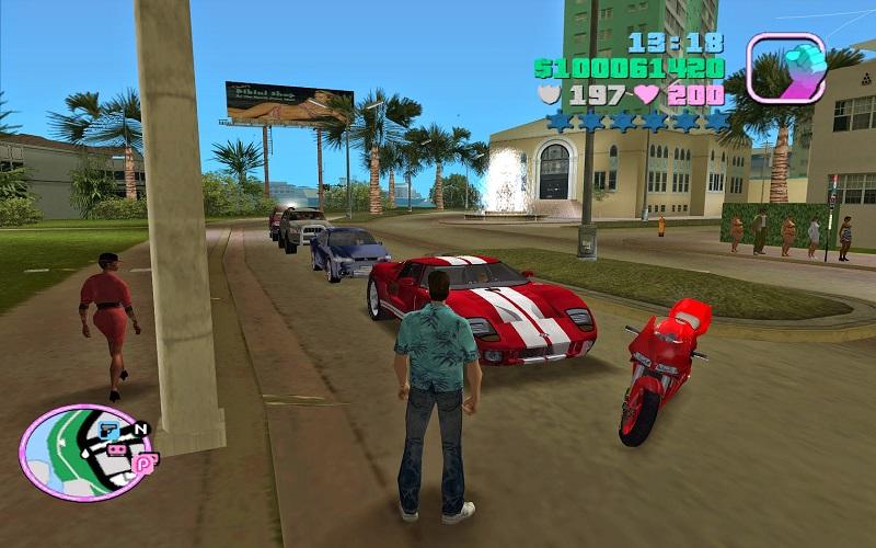 gta vice city, uscito nel 2002