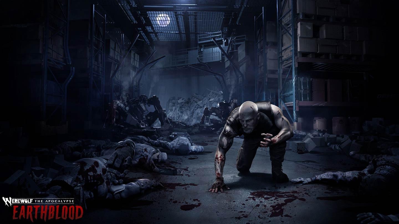 werewolf the apocalypse - Cahal il protagonista