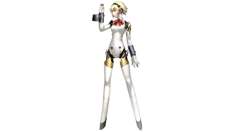 Aigis, una dei personaggi principali di Persona 3