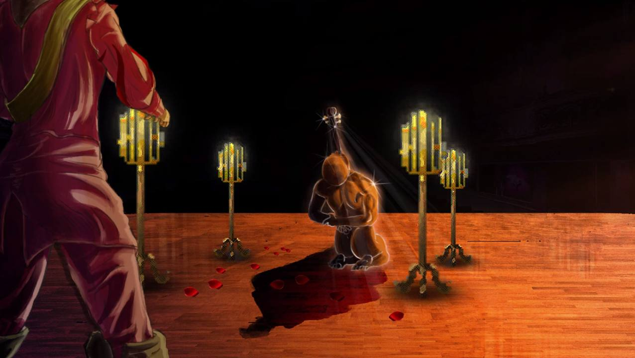 Blood Opera Crescendo Cutscene assassinio