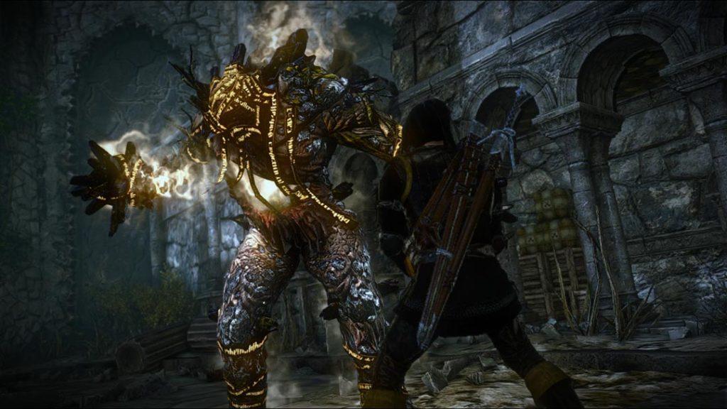 Geralt nel secondo capitolo della saga di The Witcher