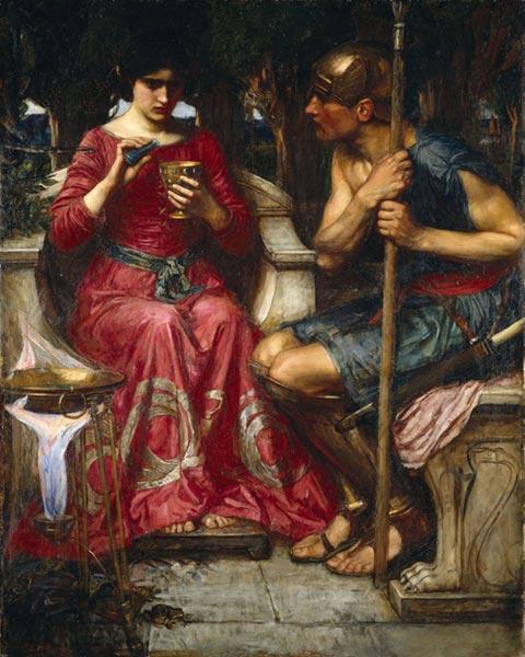 Giasone e Medea - John William Waterhouse, 1907