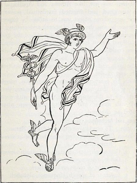 Hermes - Sarah Amelia Scull - Greek Mythology Systematized (1880)