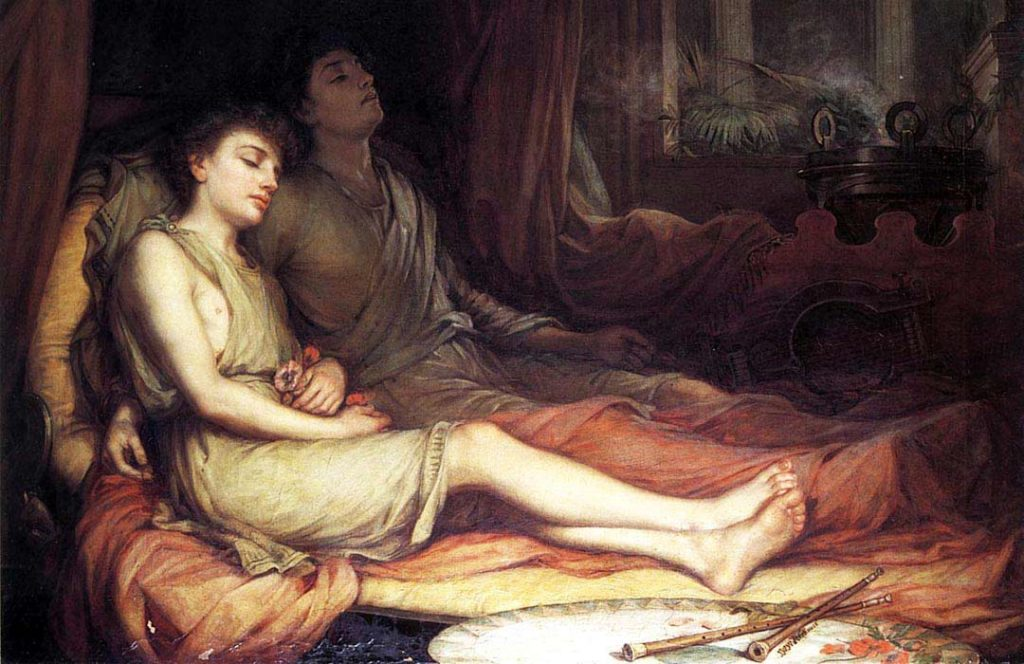 Hypnos e Thanatos - John William Waterhouse