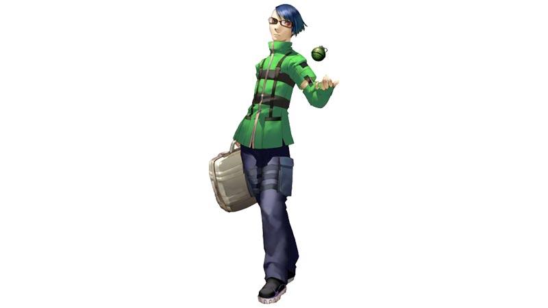Jin Shirato, uno dei protagonisti di Persona 3