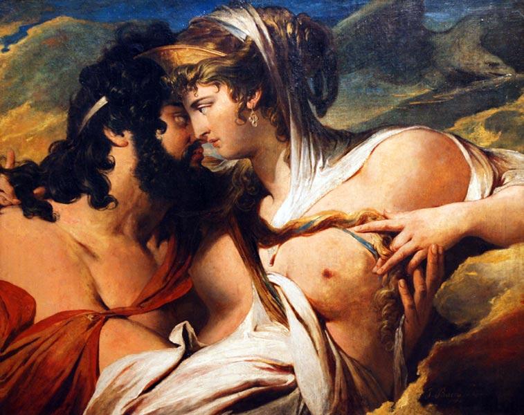 Jupiter beguiled by Juno on Mount Ida - James Barry, 1790 - 1799