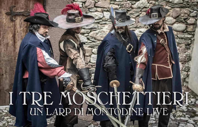 LARP A Night With... Marco Ferrari - Montodine Live - Live Pirati - I Tre Moschettieri, febbraio 2019-min