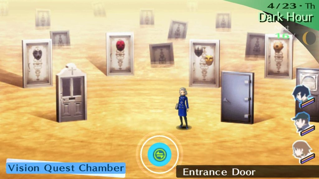 Margaret in Persona 3 Portable