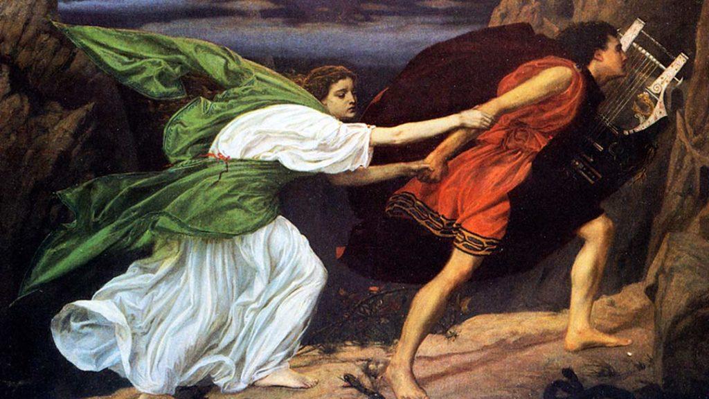 Orpheus ed Eurydice - Edward Poynter
