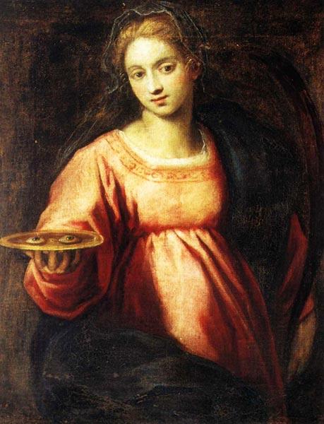 Santa Lucia - Jacopo Palma il Giovane - Venezia, 1620