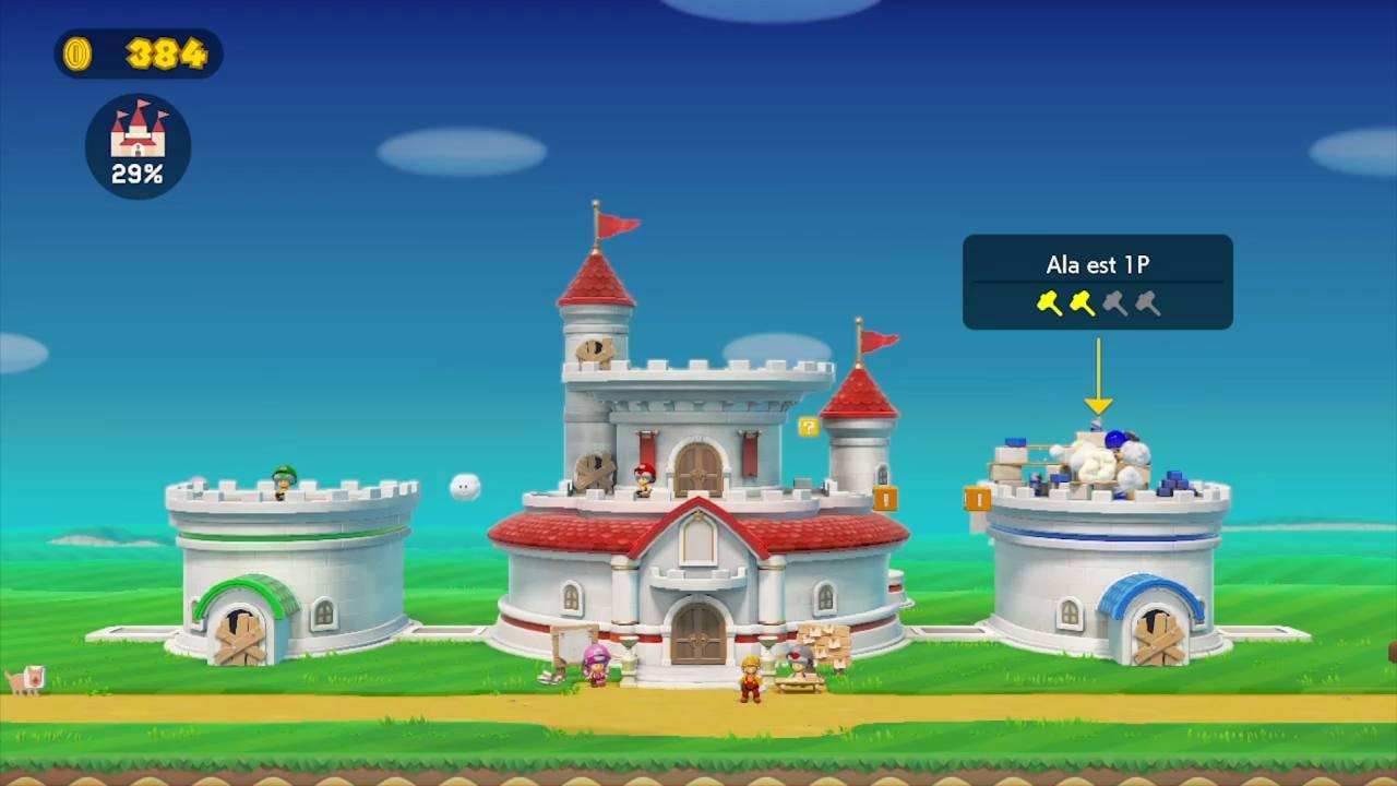 Super Mario Maker 2 Modalità Storia