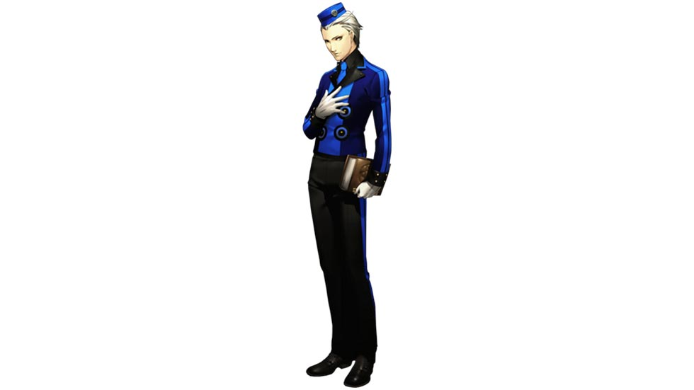 Theodore in Persona 3 Portable