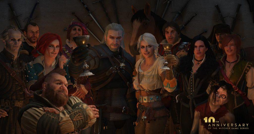 Quanto sarebbe bello giocare in un party tutto a tema The Witcher?