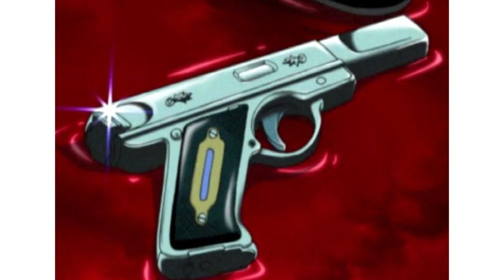 Una pistola Evoker di Persona 3