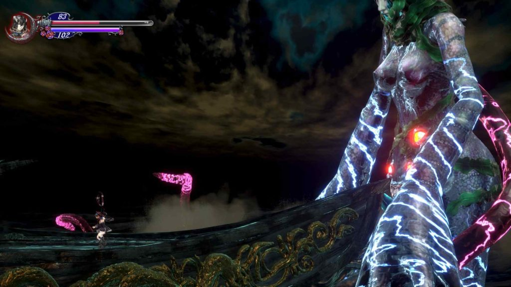bloodstained ritual of the night another boss