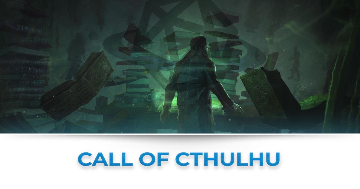 Tutte le news su call of cthulhu