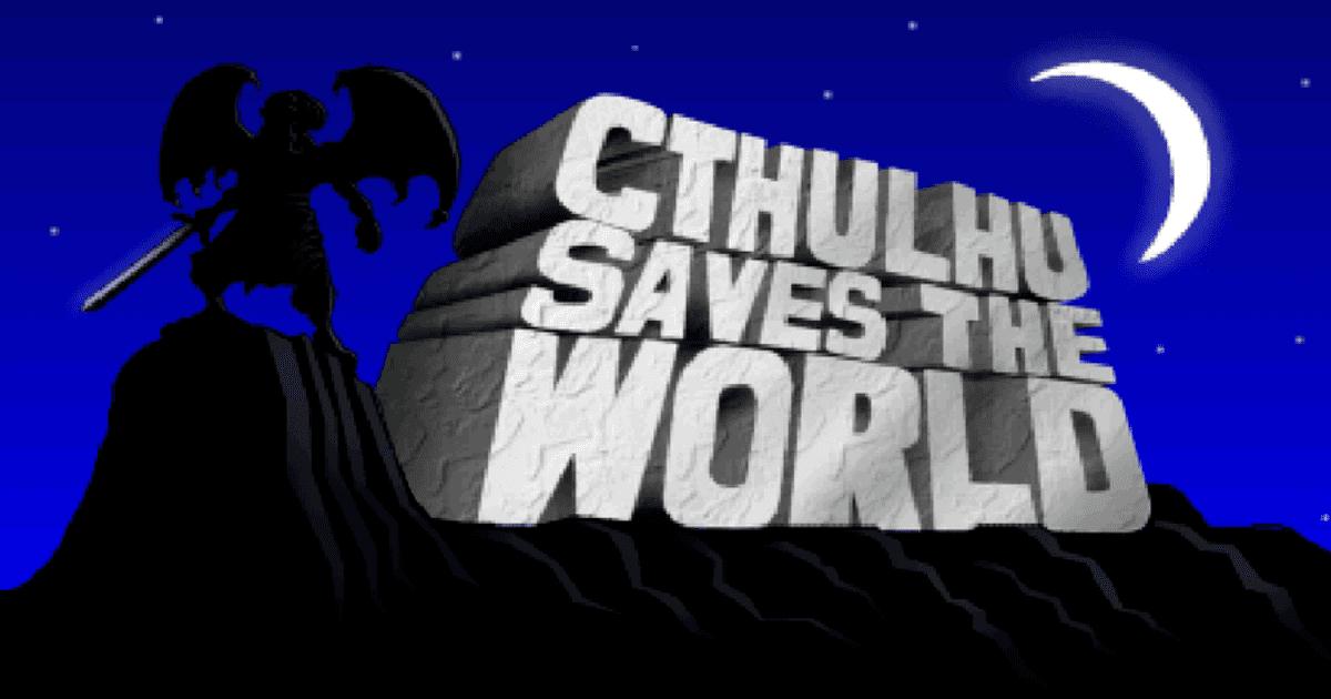 cthulhu saves the world copertina