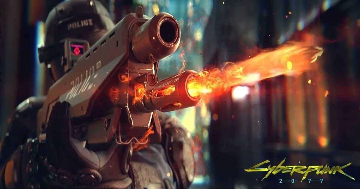 tutte le armi presenti in cyberpunk 2077