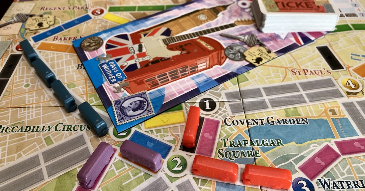 Ticket to Ride: Londra