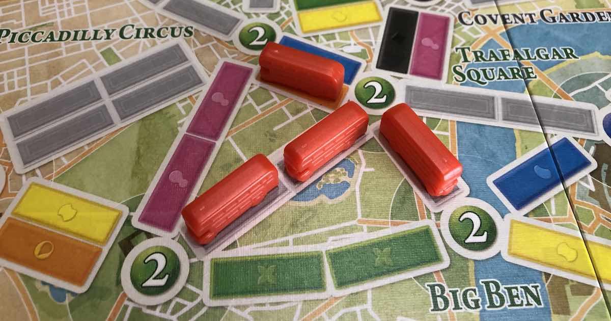 Ticket to Ride Londra - Distretto
