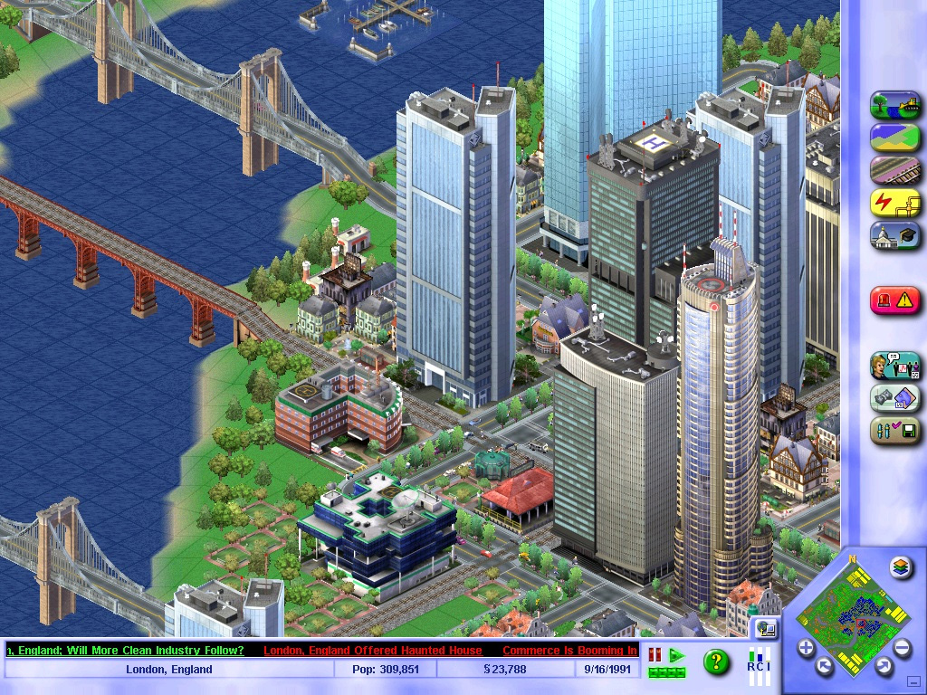 sim-city-3000-città-anni-'90