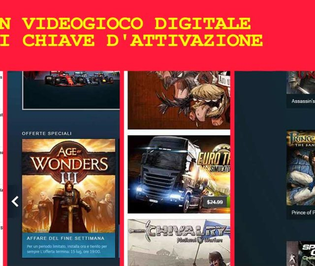steam activation key chiave attivazione steam