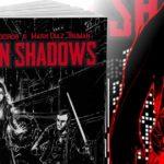 La copertina di Urban Shadows, un gioco di ruolo firmato Narrattiva