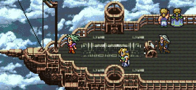 Final Fantasy VI, uscito nel 1994