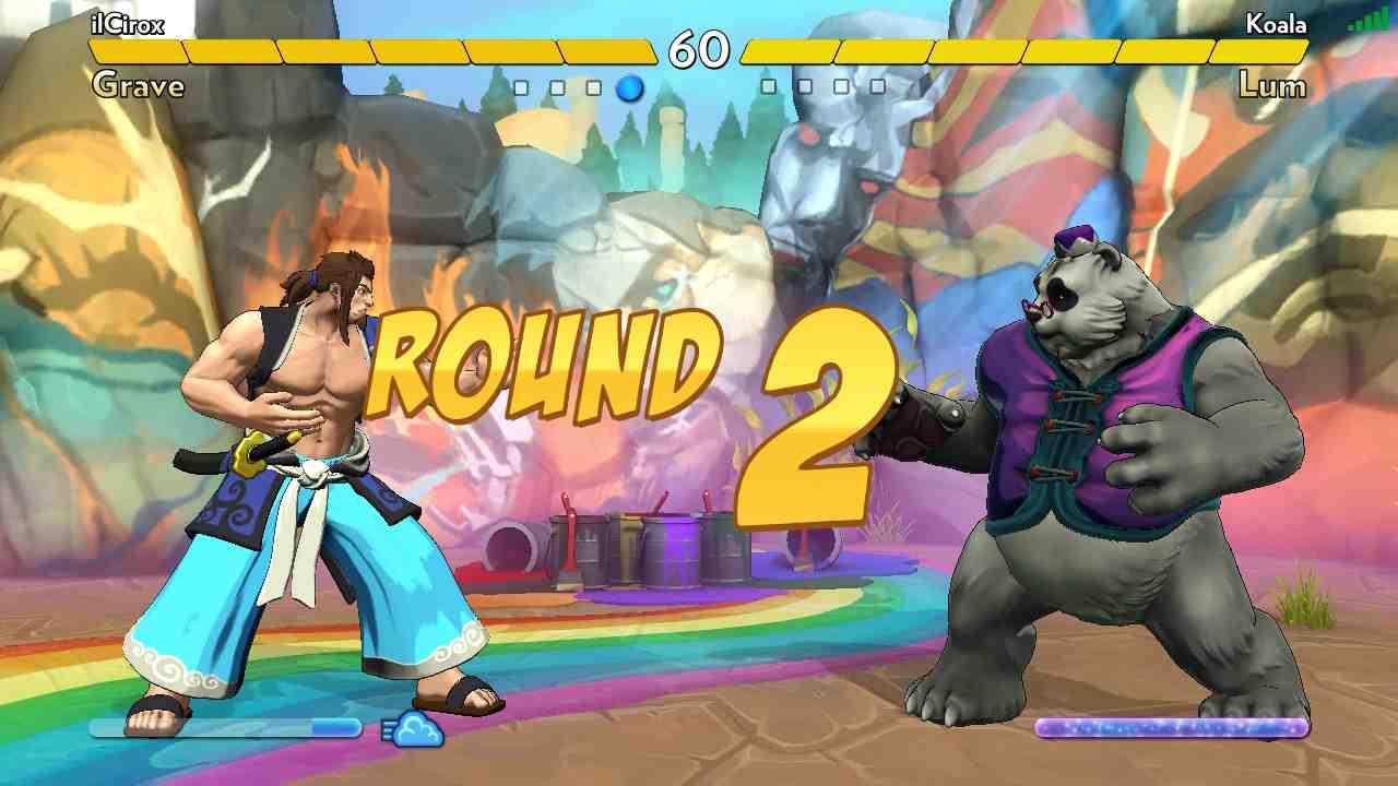 Fantasy Strike combattimento