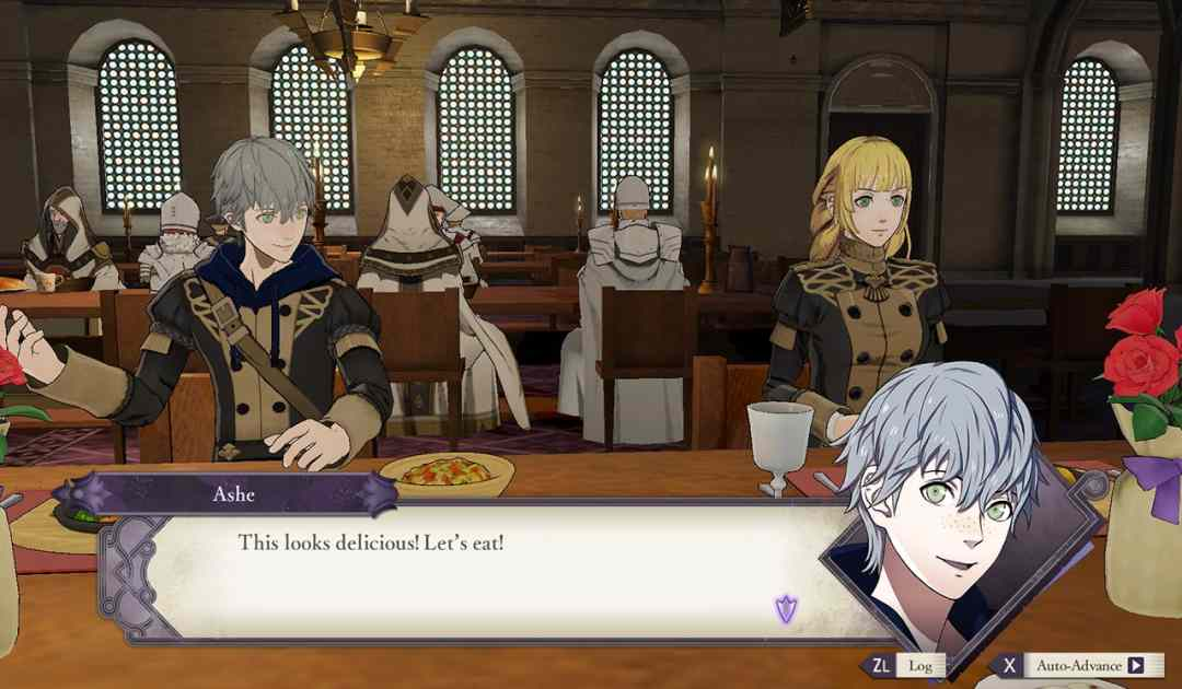 Screenshot della Mensa in Fire Emblem Three Houses