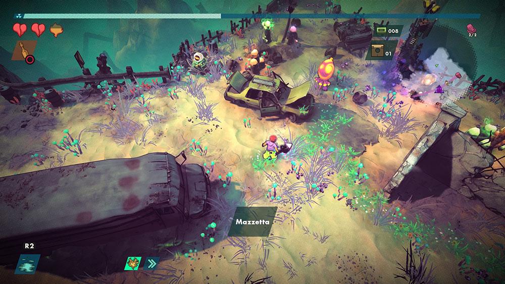 rad recensione gameplay terre spezzate