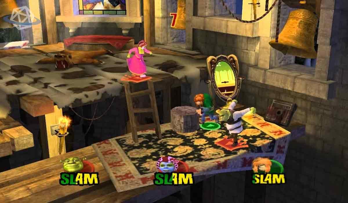 Shrek super slam gameplay giochi simili a smash