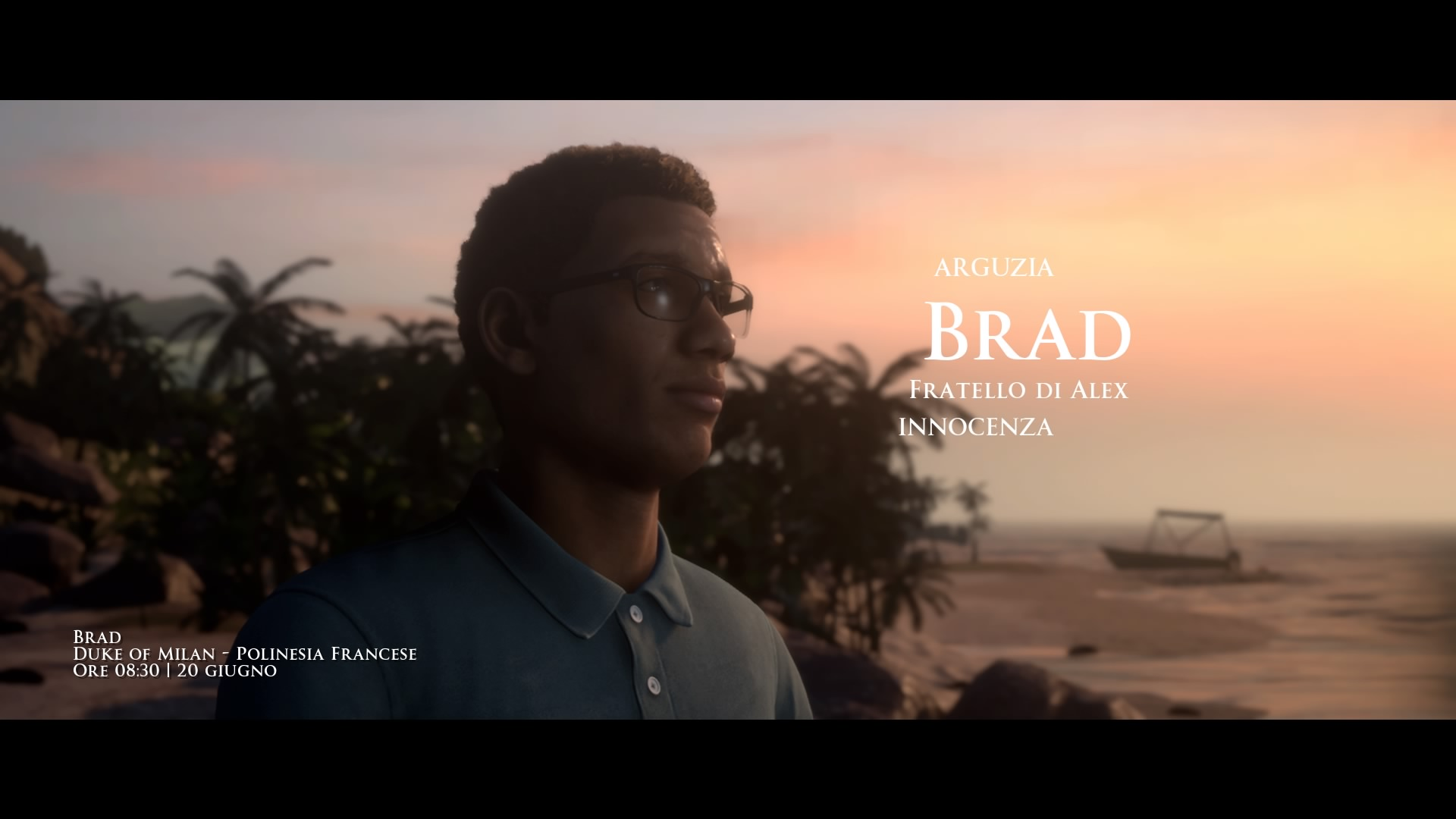 Brad di Man of Medan