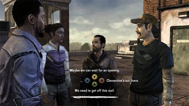 the walking dead decisions telltale games